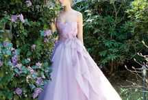 Color Wedding Gowns! / Color wedding Dresses!  / by Jennifer Maddox Beauford