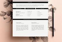 Dashing Design // CV & Resume
