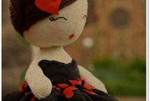 Felt Dolls / Felt Dolls Etc! / by Jennifer Maddox Beauford