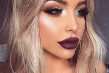 Winter Fine / Winter brings variations of black and plum lip shades. Matte or glossy, it doesn't matter! CAILYN loves a killer pouts were paired with sassy style, here are some of our favorite winter looks.
