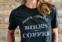 Bicycles & Coffee / Liking coffee and bikes - loving it when the two are combined in inspiring surroundings