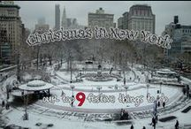 Christmas in New York / A Christmas tour of New York