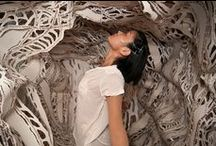 kirigami/silhouette/paper cutting / by Criaturas de Papel