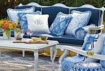 Shop - Home Ideas- / Home decor- @ http://dealsforretail.com/. Blue & White Porcelain, Oriental Rugs, Barcelona Chairs, and much more.
