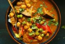 Healthy Soups + Stews / Hearty, healthy soups and stews all year round.
