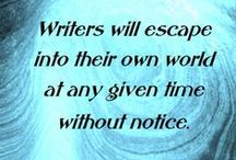 """""""Writer's Things"""" / Writing and reading"""
