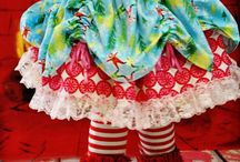 Vrolijke meiden kleding