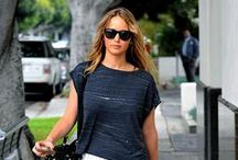 Jennifer Lawrence Fashion + Style / Just like her role as Katniss Everdeen in The Hunger Games, Jennifer Lawrence has a great sense of style. Follow our board and find fashion inspiration from the popular actress.