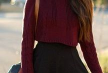 Street style - winter & Autumne / Le style en hiver 2014 - 2015 Style casual - classe