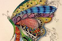 zentangle/doodle/garabatos / by Criaturas de Papel