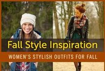 Women's Fall Outfits Style /  We've collected some of our favorite women's fall outfits that should serve as inspiration for you to get started on planning for the fall.