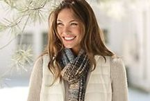 Women's Down Vest Style / Enjoy our collection of stylish women's down vest outfits for your inspiration.