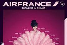 Campagnes Air France / Ce tableau reprend les campagnes d'Air France
