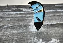 Kite surfing adventures with Surfbus / Kite surfing, surfing, paddle boarding, day van, campervan, kombi van, surf van
