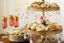 Tea Party ideas / #TeaParty Ideas hand-picked by Silver Point Productions & Events team- Decorations. The varieties of teas and snacks you serve should take center stage at your tea party, and you can complement the display with traditional tea party