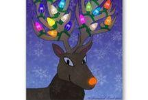 Sea Serpent Christmas Cards