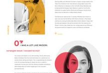 Awesome Web Inspiration / This board is about cool web layouts that I love.