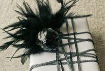 Dej mi ... zabaleno / Give me ... all wrapped / Návody a inspirace k balení dárků. / Tips and inspiration for gift wrapping.