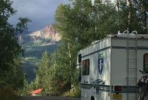RV Ideas, Tips & Tricks / We love Motorhomes!  Trailers too!  Any house that has wheels is good with us!