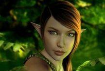 Elf ● Wood ● Female