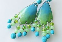 Jewelry-Enameling / Copper enamel tips and projects