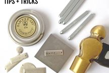 Jewelry-Stamping / Stamping projects and tips