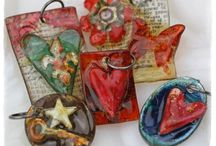 Jewelry-Resin and Plastic / Shrink Plastic and resin projects and tips