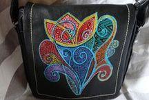Aé collection / Táska / Handbag / Táskák kézzel festett egyedi mintával. http://aecollection.hu