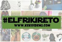 #elfrikireto / Para Craft Frikis / Para inspirarnos!!!
