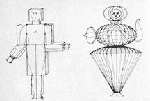 TRIADISCHES BALLETT / Bauhaus-Style-Ballet by Oskar Schlemmer / Music by Paul Hindemith / 1922, Germany