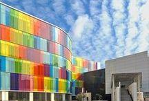 Colour Architecture-Sacred Spaces / Using Colour as a Main Element