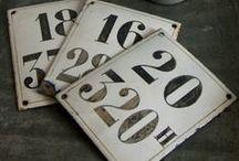 ♥♥ Numéros ♥♥ / by Les 400 coups de Virginie