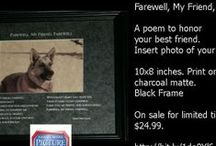 Puppy & Dog Picture Poems / We love our puppy! And you love your puppy too! This is a silly picture poem about our puppy, but we can etch this on matting with your puppy's name (or even for an older dog) and you can insert your puppy's or dog's photo in it. Or it makes a great gift!