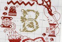 Вышивка крестом (cross stitch)