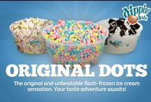 Original Dots Flavors / The original and unbeatable flash-frozen ice cream sensation. Your taste adventure awaits!  / by Dippin' Dots