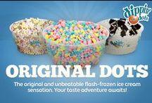 Original Dots Flavors / The original and unbeatable flash-frozen ice cream sensation. Your taste adventure awaits!  / by Dippin' Dots