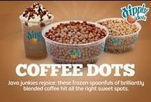 Coffee Dots / Java junkies rejoice: these frozen spoonfuls of brilliantly blended coffee hit all the right sweet spots. / by Dippin' Dots