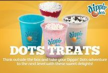 Dots Treats / Think outside the box and take your Dippin' Dots adventure to the next level with these sweet delights!  / by Dippin' Dots