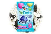 Frozen Yogurt Dots/Sugar Free Dots / Flash-frozen treats in Frozen Yogurt and Sugar Free flavors! / by Dippin' Dots