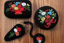 Pincushions/Needles Book/Scissors / pincushions / by bettiejane52@yahoo.com bettiejane52@yahoo.com