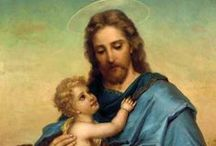 God, Jesus, and Prayers / Pictures, paintings and prayers honoring Jesus and God / by Ron G