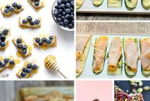 Snacks: delicious + nutritious / Delicious and nutritious snacks for even the busiest of days.
