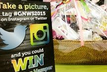 Great Northern Wedding Show Hamper Competitions / Check out the pictures from our fabulous hamper competition!  Take a picture at the show, post it on Instagram or Twitter with #GNWS2015 to be entered into our competition.  Next comp is at the September show at USN Bolton Arena - check the website for more details about how to pre-register for FREE entry