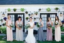 KLW Floral Design | Real Wedding Webb Barn Connecticut / Olivia + Matthew tie the knot at the rustic Webb Barn in Wethersfield, Connecticut. Floral Design and decor by K.L.W Design Co.