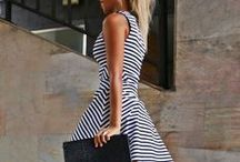 Skater Dresses / The skater dress been around for years and is still a functional pice of a modern women's wardrobe. Get inspired with our skater dress board from around the World. Follow my blog to see who can wear this great pice and why?