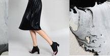 """Campaña Invierno · CALZADO LEI É / NUEVA COLECCIÓN LEI É A/W   Dos estilos clave conforman nuestras colecciones para 2016. Aires retro impregnan nuestros zapatos influenciados por una época dorada donde se forjaron iconos de la moda que inspiran nuestra línea """"The Icons"""". La fuerza y la rebeldía de un estilo único que cambio para siempre los cánones del Rock, la música Glam acompaña a nuestra colección """"Supernova"""". Descúbrelo en www.leie.es #nuevatemporada #nuevacoleccion #LEIÉ #zapatos #calzado #moda #otoño #invierno"""