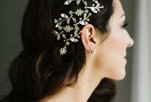 Wedding Accessories / Because no bridal look is complete without the perfect shoes, hairpiece or jewellery.