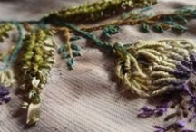 Fiber art . . . embroidery, knitting, quilting, felting, fiber art . . . wonders / by Judy Felker