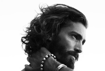 Don't Fear The Beard / Sexy men who are not afraid to rock a solid or sprouting beard.