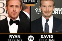Facial Hair Face Off / Which Hollywood hunk wears their sexy scruff best? Tell us!